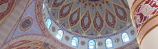 Duisburg merkez moschee innen kuppel 4